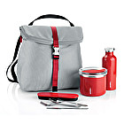 Thermal lunch box, Travel cutlery with case, Thermal travel bottle and Thermal backpack bag