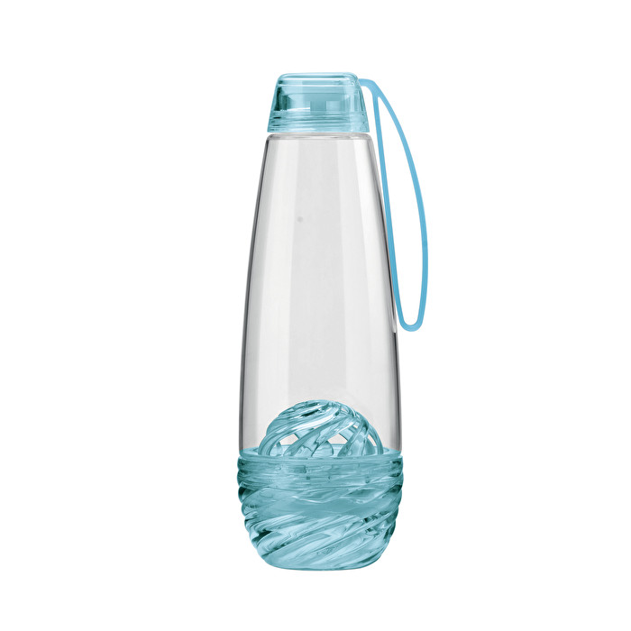 12f9e232f0 WATER BOTTLE WITH INFUSER H2O Guzzini, col. Clear blue | Shop Online