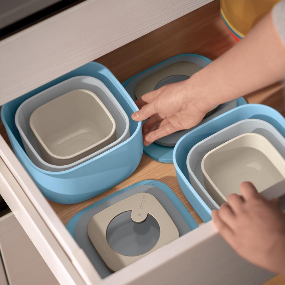 Fratelli Guzzini Kitchen Active Design ABS|TPR|Silicone Portarrollos Push/&Stop